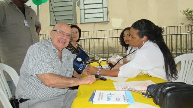 Ação Social no Hospital da Gamboa